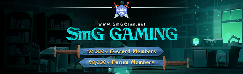 SmG Gaming Large Banner