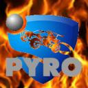 Rocket league home of pYro Small Banner
