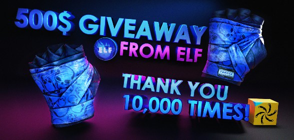 500$ GIVEAWAY, THANK YOU FOR 10k!