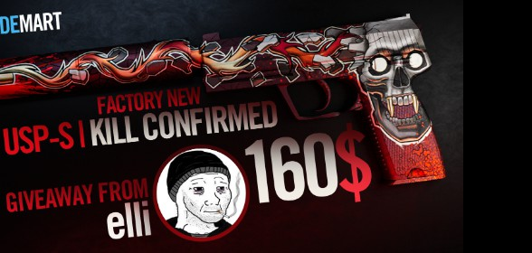 160$ Kill Confirmed GIVEAWAY!