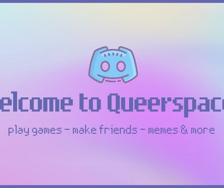 QueerSpace Small Banner
