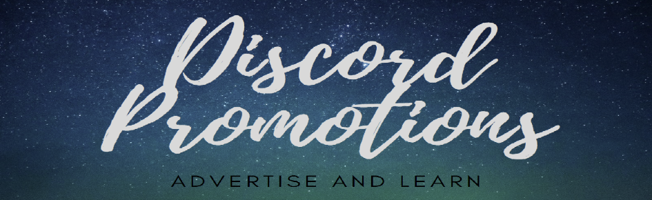 Discord Promotions [10k+] Large Banner