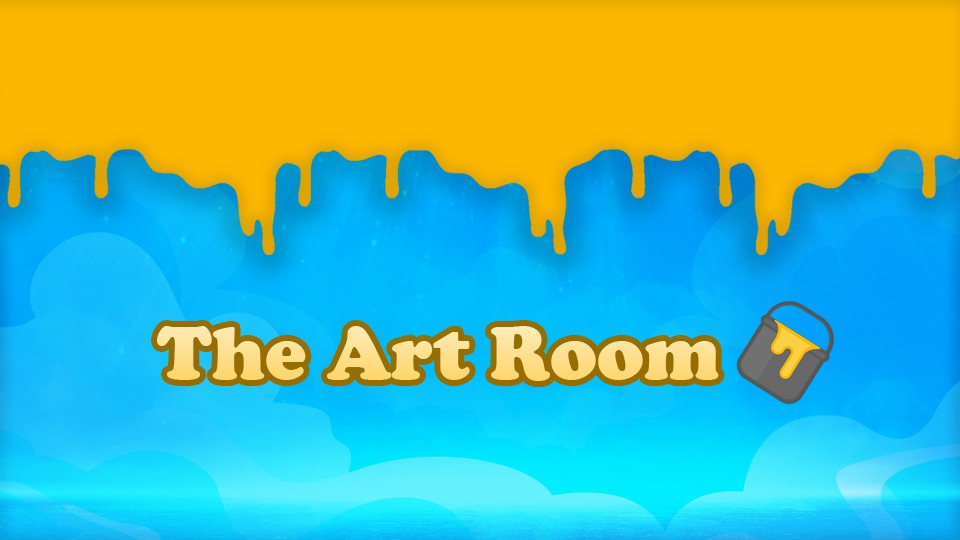 The Art Room Large Banner
