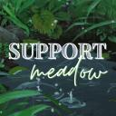 Support Meadow Small Banner