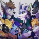 Furries and Friends Small Banner