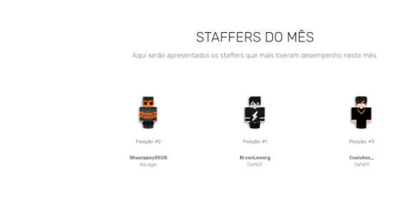 🐺STAFFERS DO MÊS🐺
