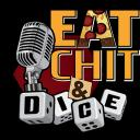 Eat Chit & Dice Small Banner