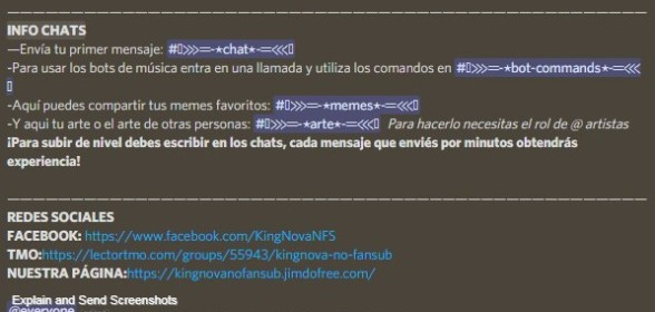 ¡Chats y Redes!