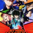 The My Hero Academia Universe. Small Banner