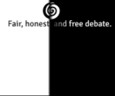 The Marketplace of Ideas Small Banner