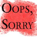 OopSorry Small Banner