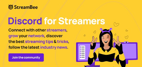 Join our Streamer Community!