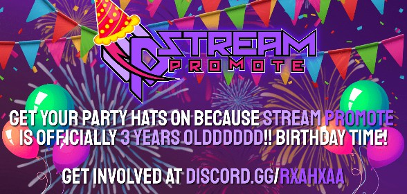 Stream Promote turns 3 years old!
