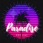 Paradise Small Banner