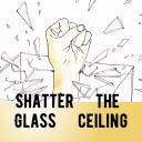 Shatter the Glass Ceiling Small Banner