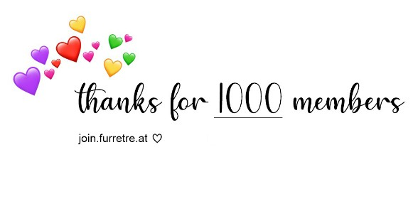 Thanks for 1000 members!