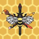 The Art Bee Hive Small Banner