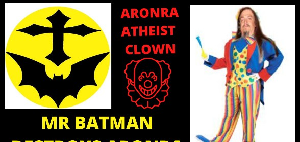 Aronra Loses Debate To Mr Batman