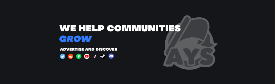 Advertise Your Server Large Banner
