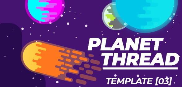 Planet Thread Design Template [03]
