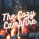 The Cozy Campfire Small Banner