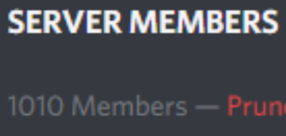 We passed the 1000 members count <3