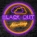 Black Out Advertising Small Banner