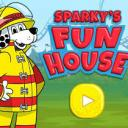 Sparky's Fun House Small Banner