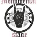 Monumental Stage Small Banner