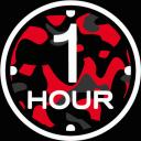 🕐 ONE HOUR 🕐 Small Banner