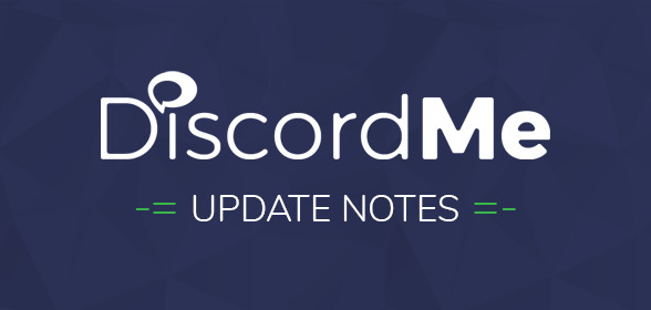 May 10 Update Notes