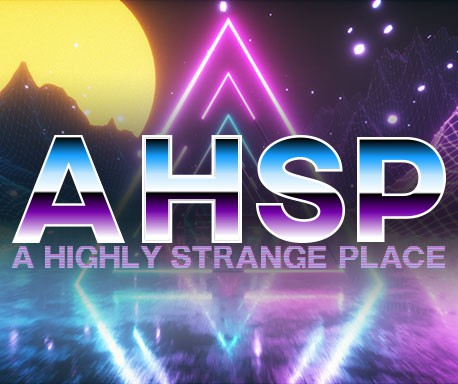 A Highly Strange Place Small Banner