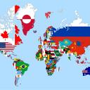 Nations of the World Small Banner