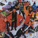 NSYNC Temple Small Banner