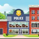 Police Station Small Banner