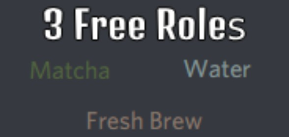 Three new free color roles!