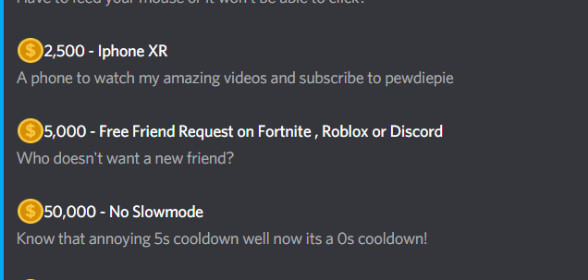 Season 1 out of TheForbiddenYT Discord Royale!