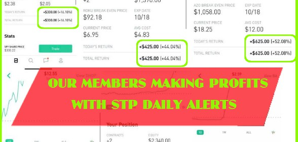 Daily Stock & Options Alerts