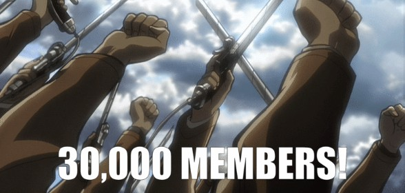 30,000 Members + Event in Celebration!