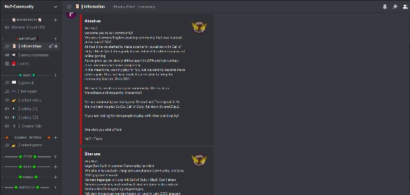 Discord is set up! Now we need you!