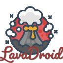 LavaDroid Mobile Gaming Small Banner
