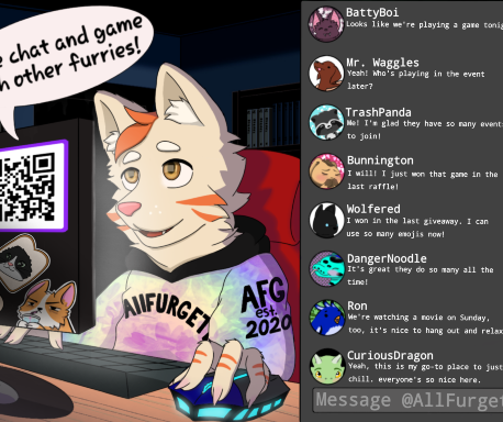 AllFurgether Small Banner