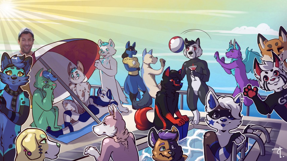 The Furry Assembly Small Banner