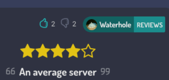 What people are saying about this server.
