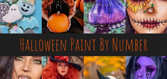 Halloween Paint by Number Event