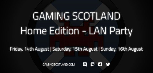 Online LAN Party Event 14th - 16th of August