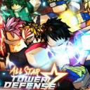 All Star Power Defense Small Banner